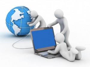 Domain name, website builder, web hosting