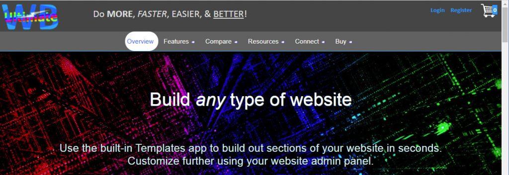 UltimateWB homepage