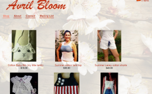 Avril Bloom Fashion, clothing e-commerce
