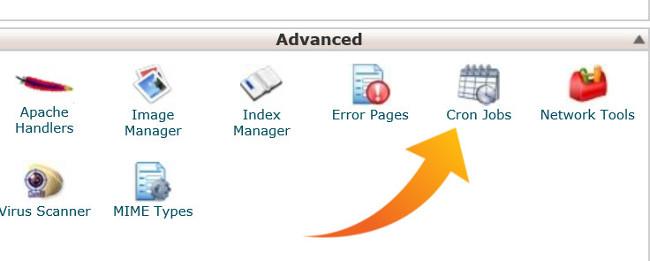 Cron Jobs (Automatic Scripts), web hosting control panel, cPanel