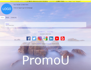 UltimateWB Demo PromoU - Frontend
